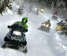 Packages - Snowmobile Rental Quebec